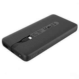 Pin Sạc Dự Phòng RAVPower 10000mAh - RP-PB161 Tích Hợp Cáp USB Type-C Hỗ Trợ Sạc Nhanh PD Power Delivery 18W và Quick Charge 3.0 - Hàng Chính Hãng