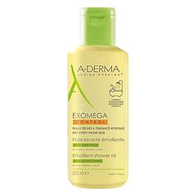 Dầu Làm Sạch Da A-Derma Cho Da Viêm Cơ Địa Đến Da Rất Khô Exomega Control Shower Oil (200ml)
