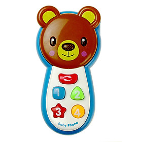 Tailored Kids Smart  Toy Music Sound Light Mobile Early Educational Music Phone Toy