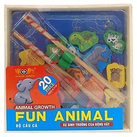 Đồ Chơi Câu Cá Fun Animals (20 Chi Tiết)