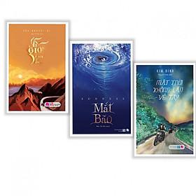 Combo Sách Tiểu Thuyết Lãng Mạn: Vì Gió Ở Nơi Ấy + Mắt Bão + Mặt Trời Không Lặn Về Tây (tặng kèm bookmark thiết kế)