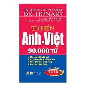 [Download sách] Từ Điển Anh - Việt 90.000 Từ (Vl) - Tái Bản