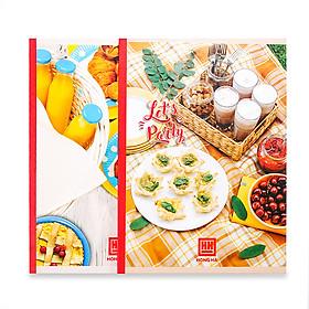 Vở kẻ ngang 200 trang Hồng Hà Let's Party 1426 (5 quyển) - Giao màu ngẫu nhiên