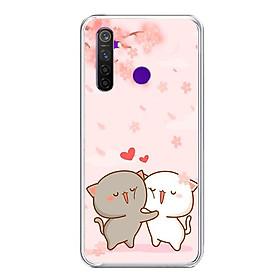 Ốp lưng điện thoại Realme 5 Pro - Silicon dẻo - 0509 LOVELY05 - Hàng Chính Hãng