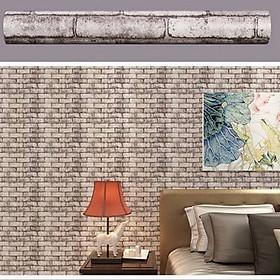 Hình đại diện sản phẩm 5m giấy decal cuộn gạch xám DT51(45x500cm)