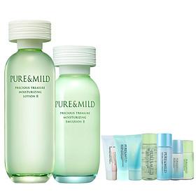 Bộ Kem Dưỡng Ẩm Shiseido PURE&MILD 120g