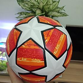 Quả bóng đá UEFA CHAMPIONS LEAGUE  2019 màu cam size 5 bóng đúc