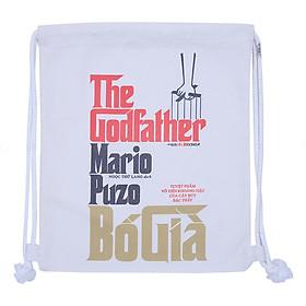 Túi Dây Rút Canvas Cá Chép - The Godfather (35 x 40 cm)