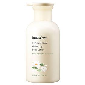 Sữa Dưỡng Thể Hương Nước Hoa Innisfree My Perfumed Body Lotion 330ml