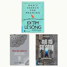 Combo 3 cuốn: Đi Tìm Lẽ Sống, Mật Mã Sự Sống, Bên Bờ Sinh Tử - Gieo Nhân Lành Để Nhận Quả Lành