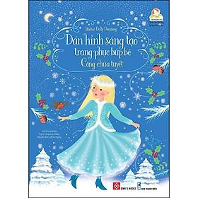 Sticker Dolly Dressing - Dán Hình Sáng Tạo Trang Phục Búp Bê - Công Chúa Tuyết