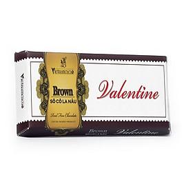 Valentine Brown chocolate