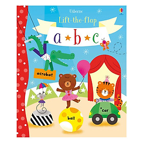 Usborne Lift-the-Flap abc