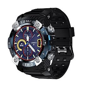 LEMFO LEMD Smartwatch + TWS Earbuds Set 1.3-Inch TFT Touchscreen Big Face Rugged Watch IP67 Waterproof Sport Watch +