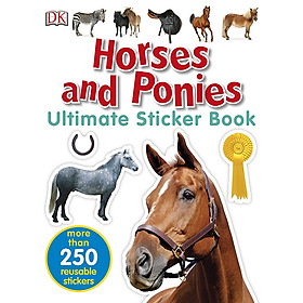 Ultimate Sticker Book Horses And Ponies