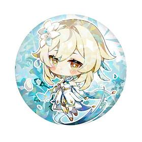 Huy hiệu in hình Genshin Impact ver Mondstadt anime chibi dễ thương huy hiệu cài áo (MẪU GIAO NGẪU NHIÊN)