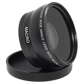 55mm 0.45x Wide Angle Macro Lens for Nikon Canon Sony DSLR DC Camera 18-55mm