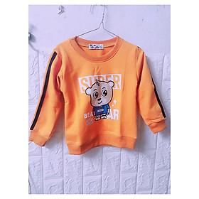 Áo phông nỉ cho bé Super Beaar xinh xắn