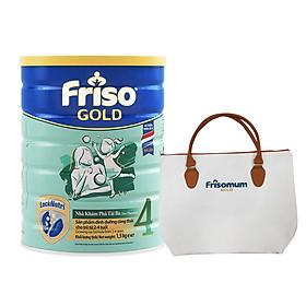 Sữa Bột Friso Gold 4 Cho Trẻ Từ 2-4 Tuổi 1.5kg + Tặng Túi Xách Cho Mẹ (Mẫu ngẫu nhiên)