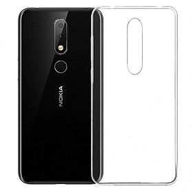 Bộ 2 ốp lưng silicon dẻo cho Nokia 6.1 Plus (Nokia X6)