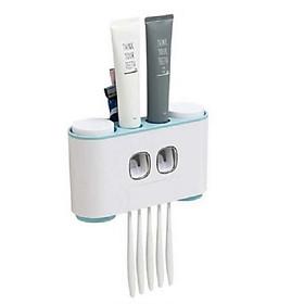 Dụng cụ treo bàn chải và lấy kem đánh răng tự động
