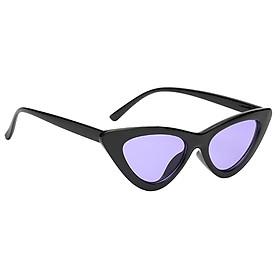 Women Vintage Triangle Mirrored Sunglasses Eyewear Designer