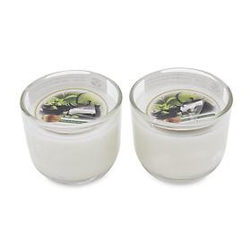 Cặp 2 Ly nến thơm D6H5 Miss Candle FtraMart MIC0605 5.5 x 5 cm (Chọn 10 mùi hương)