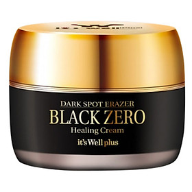 Kem Dưỡng Da Xóa Thâm Nám It's Well Plus Dark Spot Eraser Black Zero Healing Cream (30g)
