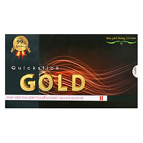 Que Thử Phát Hiện Thai Sớm Quickstick Gold 5Mm