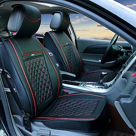 Bộ áo ghế da ô tô cao cấp giá siêu tốt bản tiêu chuẩn cho 5 chỗ ngồi tuỳ chọn gối và tựa lưng BAG01