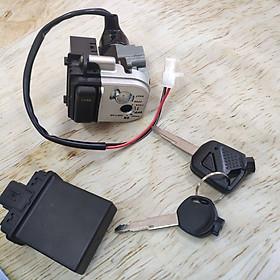 Ổ khóa điện xe SH Việt 125i - 150i có Chip chống trộm - G2812