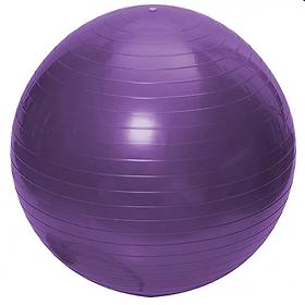 Bóng tập yoga 65cm trơn (Tím)