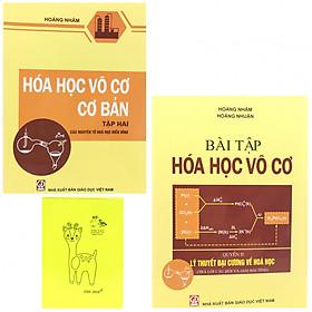 Combo sách Hóa Học Vô Cơ Tập 2 (sách và sách bài tập) tặng kèm sổ tay màu sắc