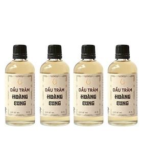 Combo 4 chai Dầu tràm cho bé - dầu tràm Hoàng Cung 100ml