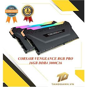 Ram máy tính để bàn CORSAIR VENGEANCE RGB PRO BLACK DDR4 - CHÍNH HÃNG