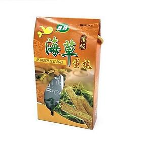 ( Đặc sản nông nghiệp Tân Hoa xã) Bánh trứng cuộn rong biển cao cấp 144g/ hộp (2 cái x 4 gói)