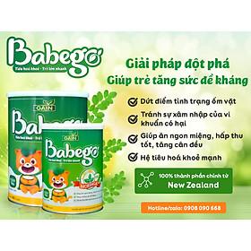 Sữa mát tăng cân, cải thiện biếng ăn và táo bón Babego từ 12 - 36 tháng, 800G-5