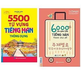 Combo 5500 Từ Vựng Tiếng Hàn Thông Dụng+6000 Câu Giao Tiếp Tiếng Hàn Theo Chủ Đề