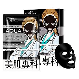 Mặt nạ đen SEXYLOOK Aqua [CẤP NƯỚC – TĂNG ĐỘ ĐÀN HỒI] - Đài Loan (28ml x 4 miếng)