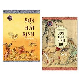 Combo Sơn Hải Kinh + Sơn Hải Kinh Đồ (Bách Khoa Thư Sơn Cầm Dị Thú / Pha Liêu Trai Chí Dị)