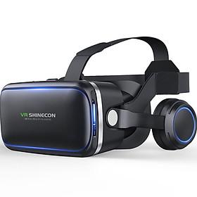 Kính thực tế ảo VR Shinecon kiêm tai nghe Phiên bản 6.0 - Hàng Nhập Khẩu