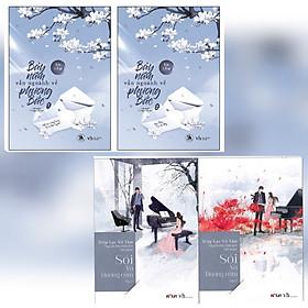 Combo 4 Cuốn Tiểu Thuyết Chạm Đến Trái Tim: Bảy Năm Vẫn Ngoảnh Về Phương Bắc (Tập 1 + Tập 2) + Sói và dương cầm (Tập 1 + Tập 2)- Diệp Lạc Vô Tâm (Tình Yêu Ấy, Là Thật Hay Giả)