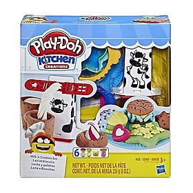 Bộ Đồ Chơi Đất Nặn Bữa Ăn Burger/Cookie - Play-Doh E5112 - Mẫu 2