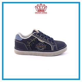 Giày Sneaker Bé Trai Bé Gái Đi Học Chính Hãng Crown UK London Street Trẻ em Cao Cấp CRUK213 Nhẹ Êm Size 28-37/2-16 Tuổi