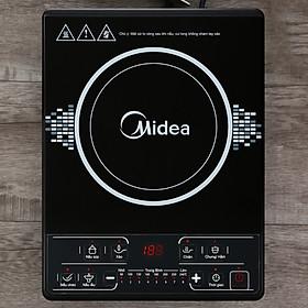 Bếp điện từ Midea MI-B1920DM - Hàng chính hãng