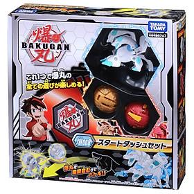 Đồ chơi Quyết Đấu Bakugan - Bộ Ba Chiến Binh Bakugan Starter Pack 2 Và Thẻ Hình Bổ Sung - Baku008