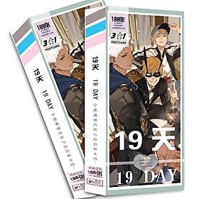 Hộp ảnh postcard 19 days old xian in hình đẹp tặng thẻ VCone (Ngẫu nhiên)