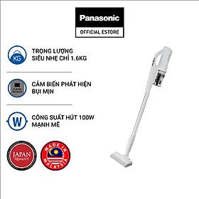 Máy hút bụi không dây cầm tay siêu nhẹ- Tích hợp cảm biến bụi mịn Panasonic MC-SB30JW049 - Hàng chính hãng
