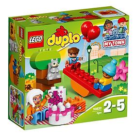 Mô Hình Lego Duplo - Tiệc Sinh Nhật Ngoài Trời 10832 (19 Mảnh Ghép)