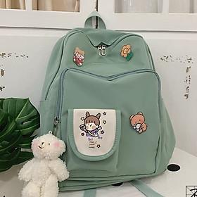 Balo Nữ Đi Học, Balo Chống Nước Thời Trang Hàn Quốc Trẻ Trung Cá Tính Ba lô thời trang học sinh, sinh viên